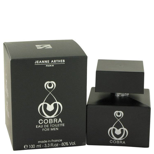 Cobra by Jeanne Arthes Eau De Toilette Spray 3.3 oz for Men