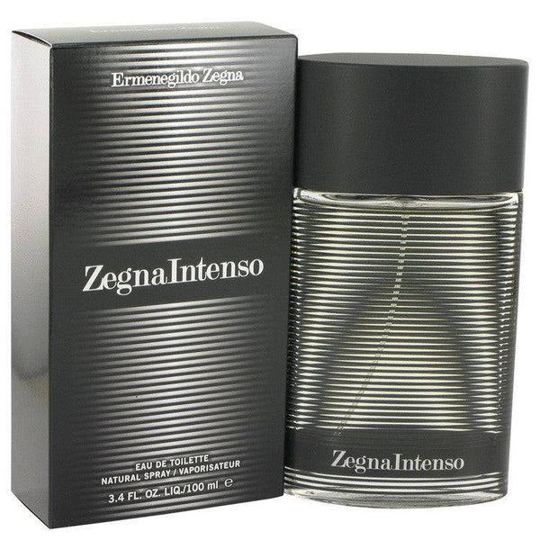 Zegna Intenso by Ermenegildo Zegna Eau De Toilette Spray 3.4 oz for Men - rangoutlet.com