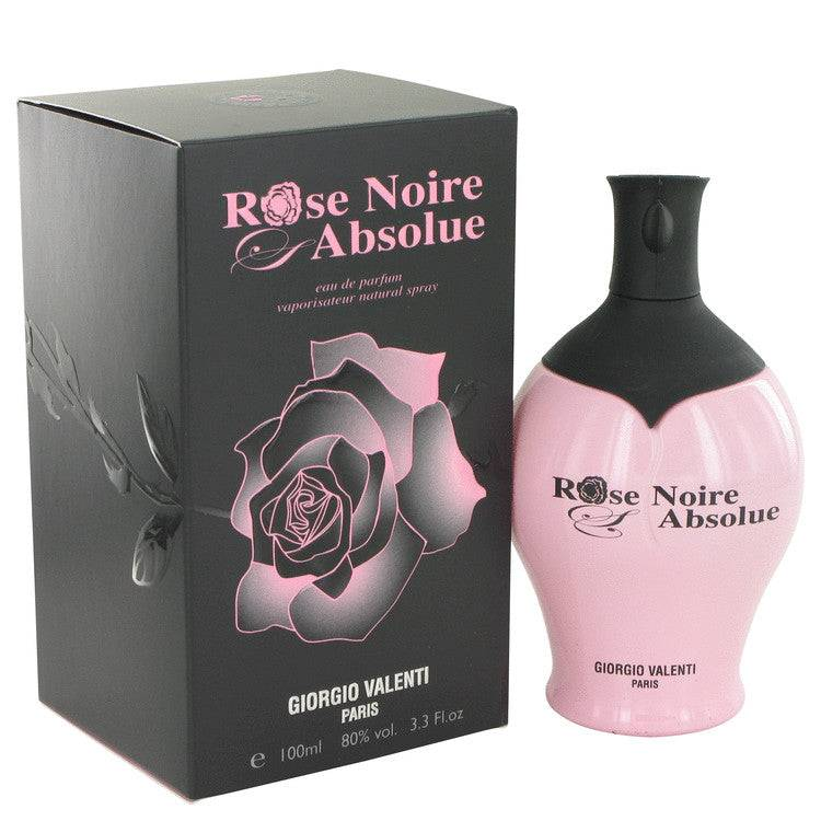 Rose Noire Absolue by Giorgio Valenti Eau De Parfum Spray 3.4 oz for Women - rangoutlet.com