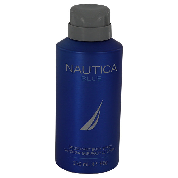 NAUTICA BLUE by Nautica Deodorant Spray 5 oz for Men - rangoutlet.com