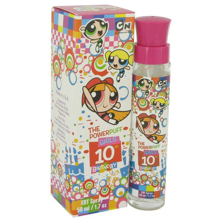 Powerpuff Girls 10th Birthday by Warner Bros Eau De Toilette Spray 1.7 oz for Women