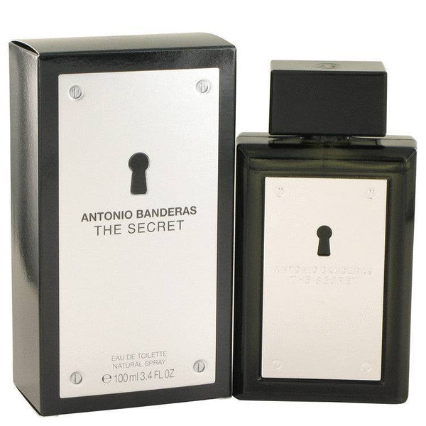 The Secret by Antonio Banderas Eau De Toilette Spray 3.4 oz for Men