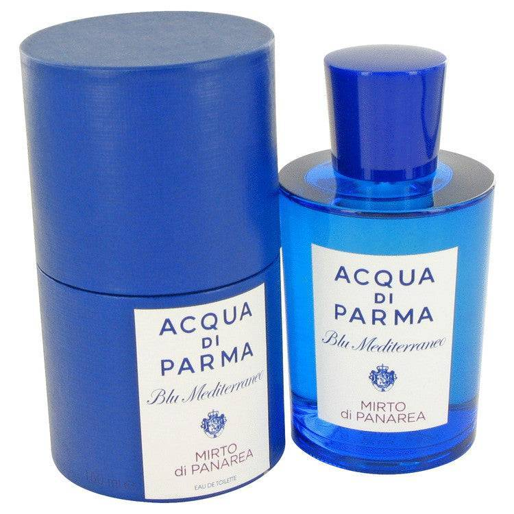 Blu Mediterraneo Mirto Di Panarea by Acqua Di Parma Eau De Toilette Spray (Unisex) 5 oz for Women - rangoutlet.com