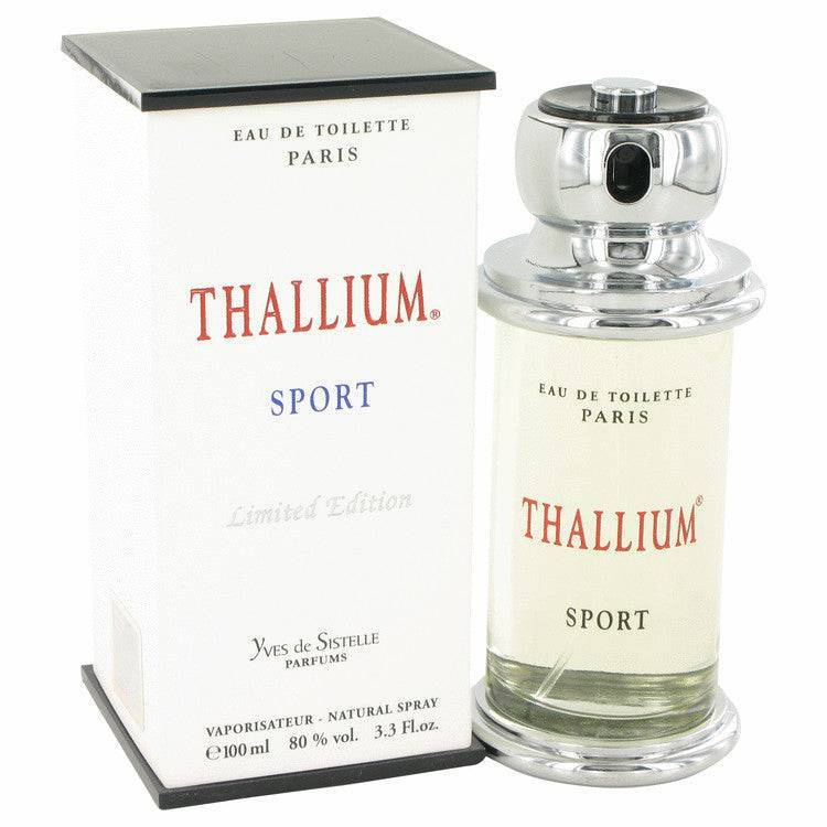 Thallium Sport by Parfums Jacques Evard Eau De Toilette Spray (Limited Edition) 3.4 oz for Men - rangoutlet.com