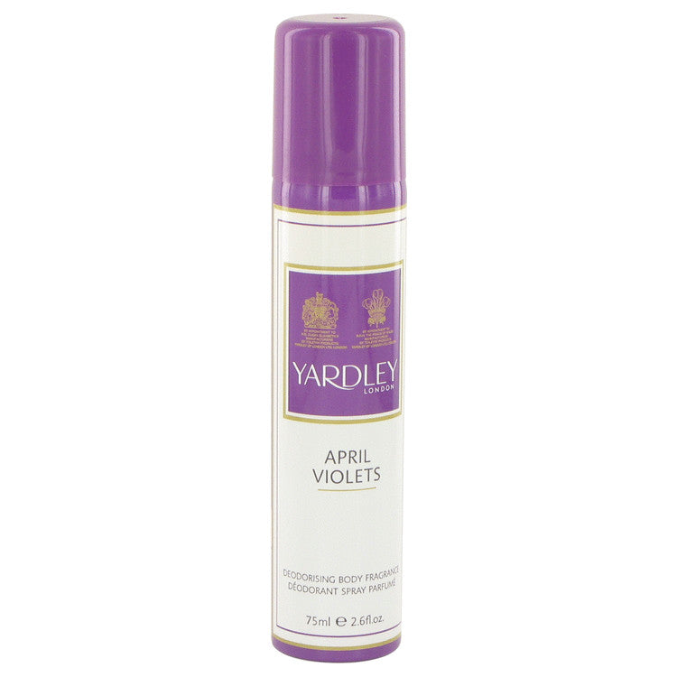 April Violets by Yardley London Body Spray 2.6 oz for Women - rangoutlet.com