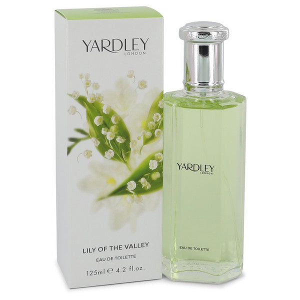 Lily of The Valley Yardley by Yardley London Eau De Toilette Spray 4.2 oz for Women - rangoutlet.com