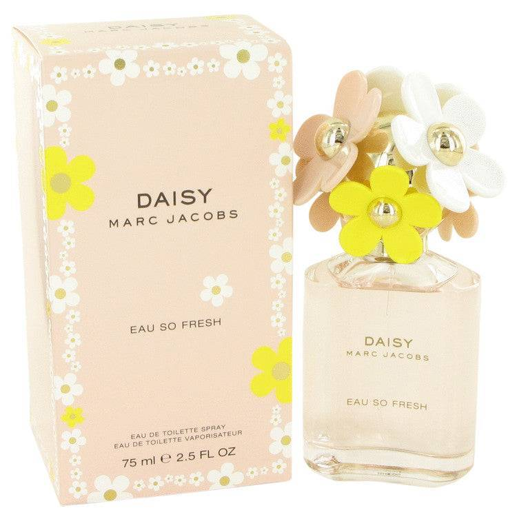 Daisy Eau So Fresh by Marc Jacobs Eau De Toilette Spray 2.5 oz for Women - rangoutlet.com