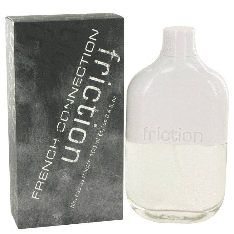 FCUK Friction by French Connection Eau De Toilette Spray 3.4 oz for Men - rangoutlet.com