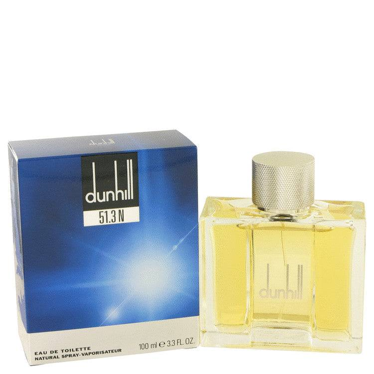 Dunhill 51.3N by Alfred Dunhill Eau De Toilette Spray 3.3 oz for Men - rangoutlet.com