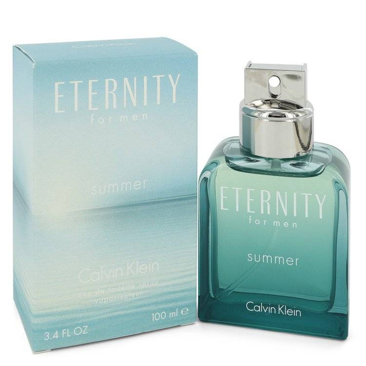 Eternity Summer by Calvin Klein Eau De Toilette Spray (2012) 3.4 oz for Men - rangoutlet.com