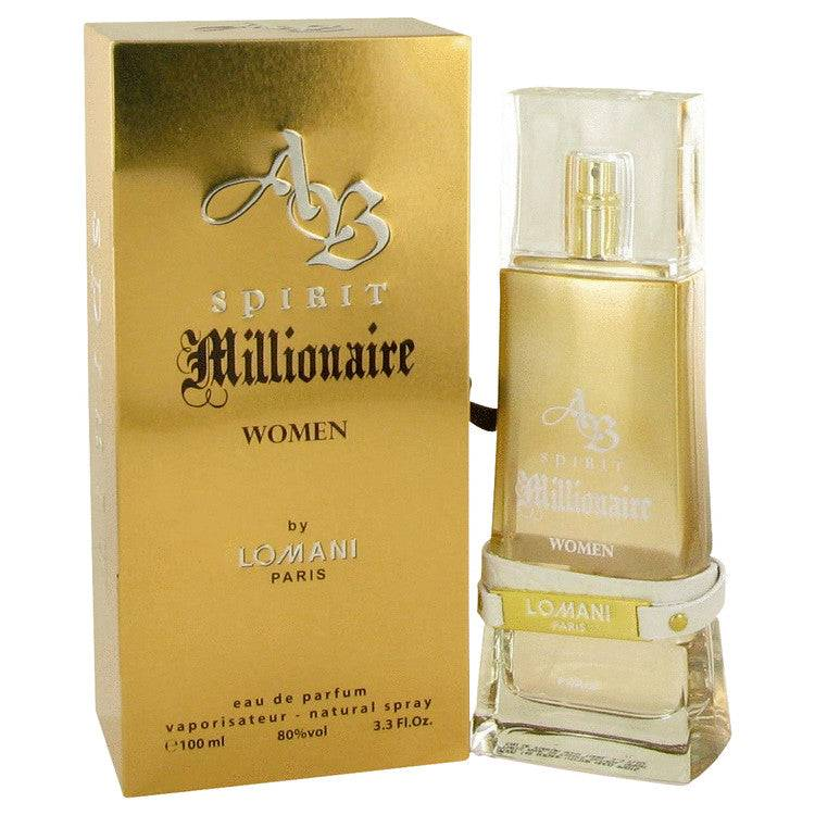 Spirit Millionaire by Lomani Eau De Parfum Spray 3.3 oz for Women - rangoutlet.com