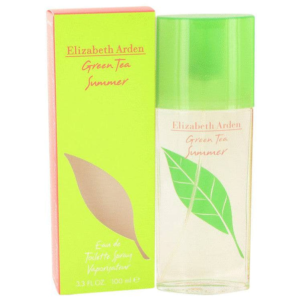 Green Tea Summer by Elizabeth Arden Eau De Toilette Spray 3.4 oz for Women