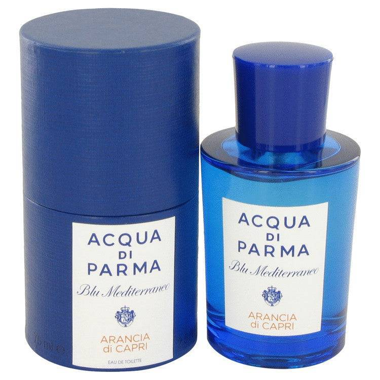 Blu Mediterraneo Arancia Di Capri by Acqua Di Parma Eau De Toilette Spray 2.5 oz for Women - rangoutlet.com