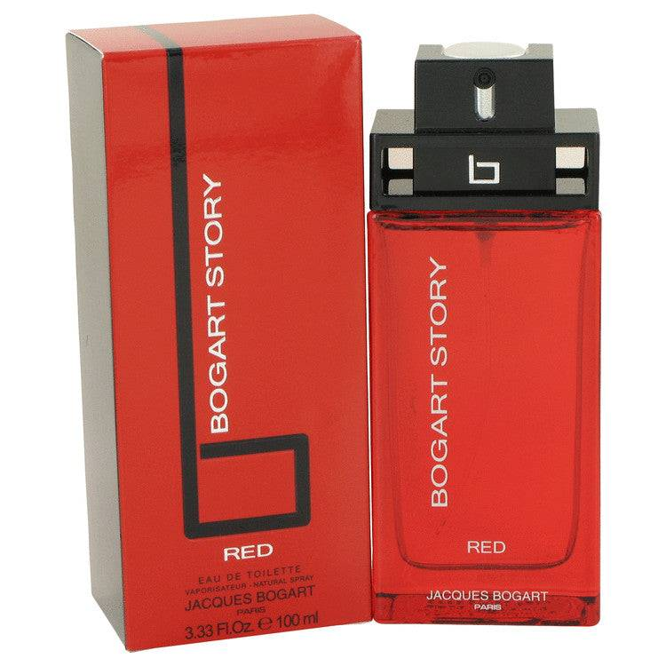 Bogart Story Red by Jacques Bogart Eau De Toilette Spray 3.4 oz for Men - rangoutlet.com