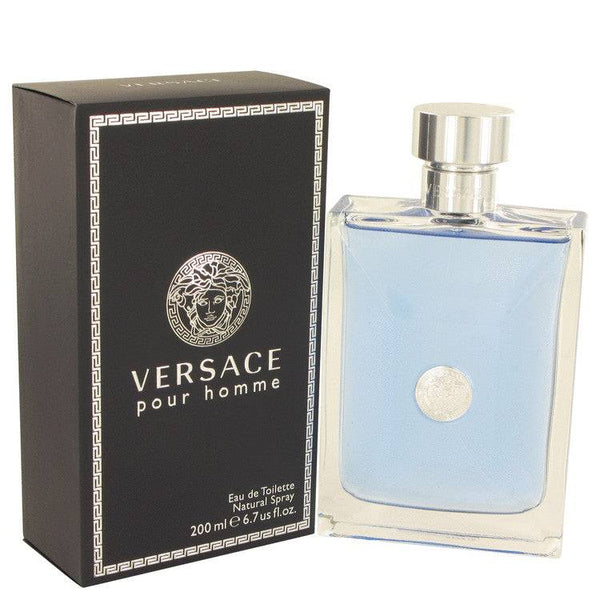 Versace Pour Homme by Versace Eau De Toilette Spray 6.7 oz for Men