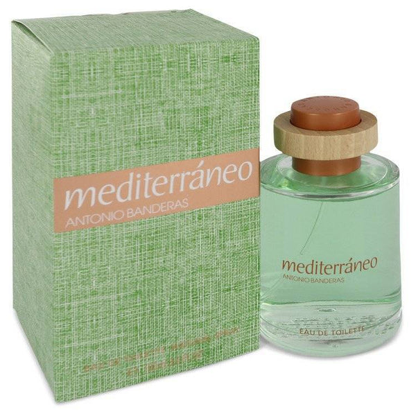 Mediterraneo by Antonio Banderas Eau De Toilette Spray 3.4 oz for Men - rangoutlet.com