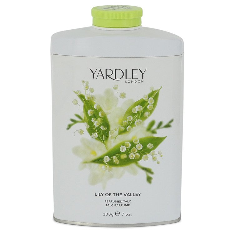 Lily of The Valley Yardley by Yardley London Pefumed Talc 7 oz for Women - rangoutlet.com