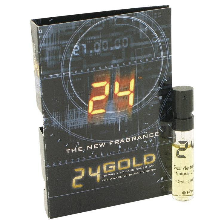 24 Gold The Fragrance by ScentStory Vial (sample) .06 oz for Men - rangoutlet.com