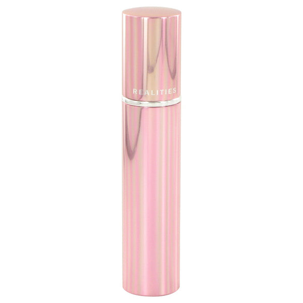 Realities (New) by Liz Claiborne Fragrance Gel in pink case .5 oz for Women