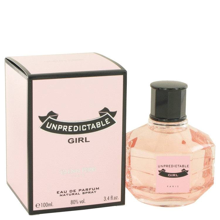 Unpredictable Girl by Glenn Perri Eau De Parfum Spray 3.4 oz for Women - rangoutlet.com