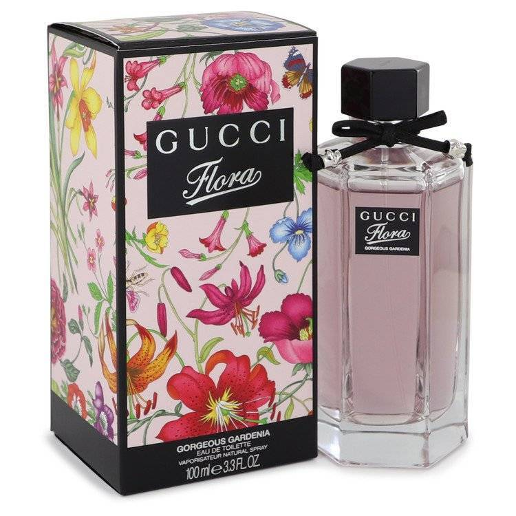 Flora Gorgeous Gardenia by Gucci Eau De Toilette Spray 3.3 oz for Women - rangoutlet.com