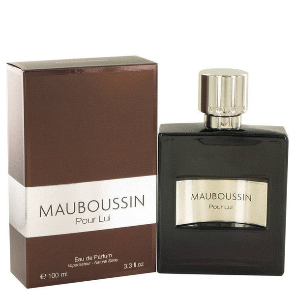 Mauboussin Pour Lui by Mauboussin Eau De Parfum Spray 3.3 oz for Men - rangoutlet.com