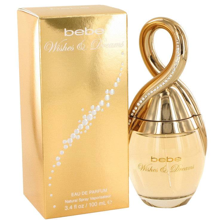 Bebe Wishes & Dreams by Bebe Eau De Parfum Spray 3.4 oz for Women - rangoutlet.com