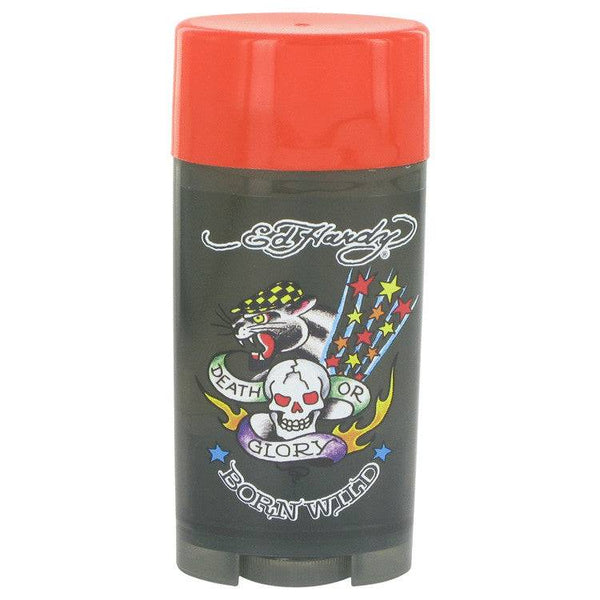 Ed Hardy Born Wild by Christian Audigier Deodorant Stick (Alcohol Free) 2.75 oz for Men - rangoutlet.com