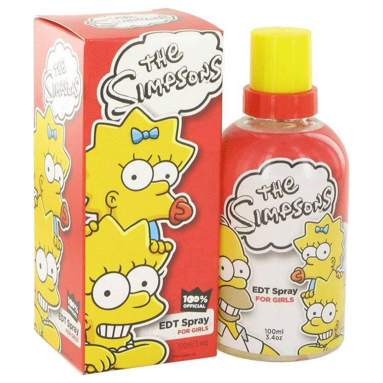 The Simpsons by Air Val International Eau De Toilette Spray 3.4 oz for Women - rangoutlet.com