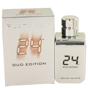 24 Platinum Oud Edition by ScentStory Eau De Toilette Concentree Spray (Unisex) 3.4 oz for Men - rangoutlet.com