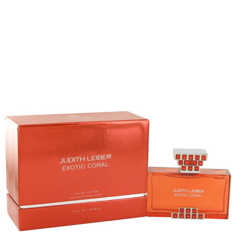 Judith Leiber Exotic Coral by Judith Leiber Eau De Parfum Spray 2.5 oz for Women - rangoutlet.com