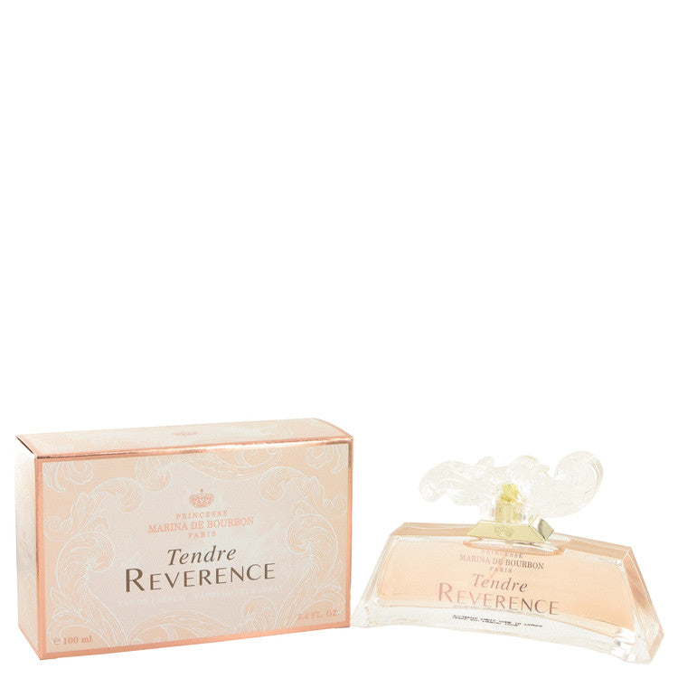 Tendre Reverence by Marina De Bourbon Eau De Parfum Spray 3.4 oz for Women - rangoutlet.com
