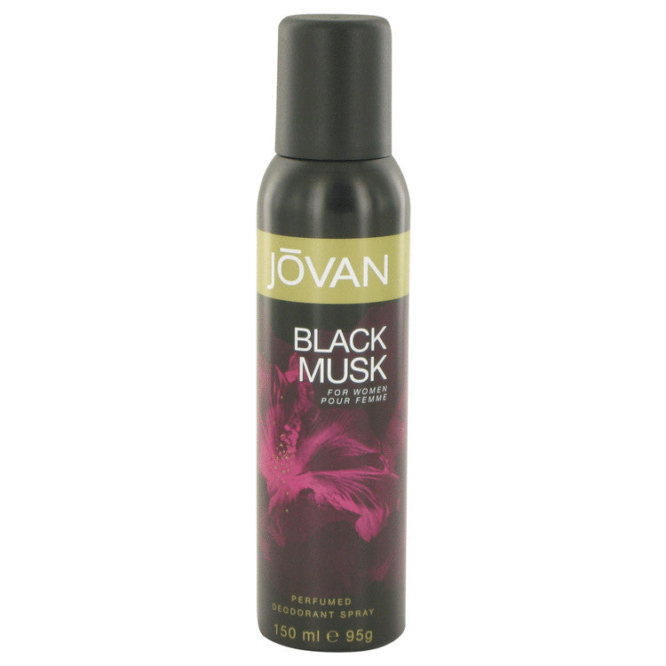 Jovan Black Musk by Jovan Deodorant Spray 5 oz for Men - rangoutlet.com