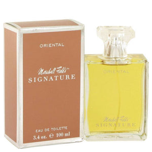 Marshall Fields Signature Oriental by Marshall Fields Eau De Toilette Spray (Scratched box) 3.4 oz for Women - rangoutlet.com