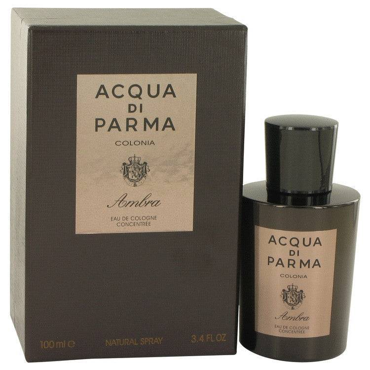 Acqua Di Parma Colonia Ambra by Acqua Di Parma Eau De Cologne Concentrate Spray 3.3 oz for Men - rangoutlet.com
