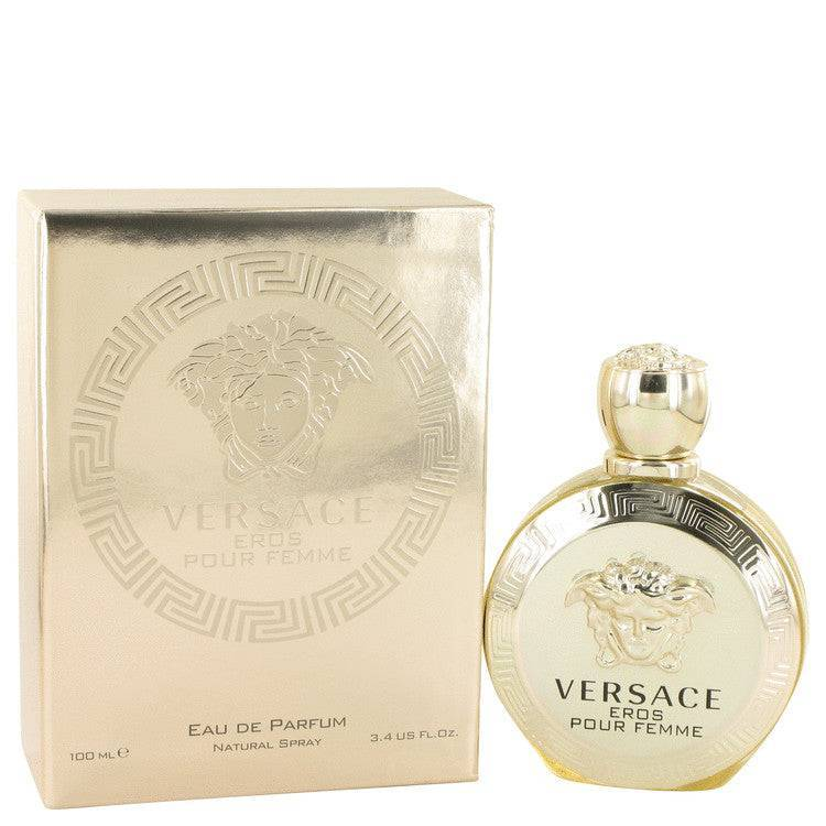 Versace Eros by Versace Eau De Parfum Spray 3.4 oz for Women - rangoutlet.com