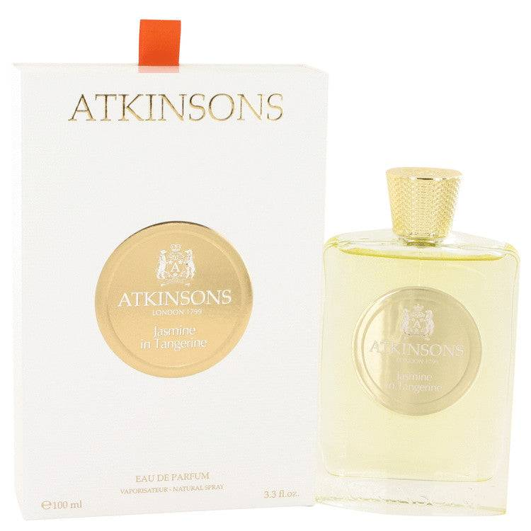 Jasmine in Tangerine by Atkinsons Eau De Parfum Spray 3.3 oz for Women - rangoutlet.com