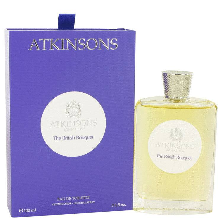 The British Bouquet by Atkinsons Eau De Toilette Spray 3.3 oz for Men - rangoutlet.com