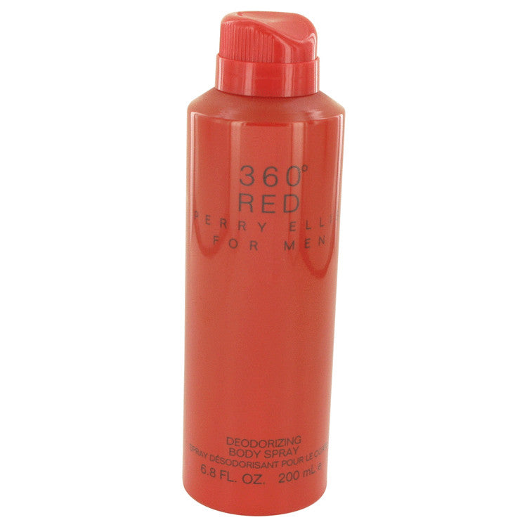 Perry Ellis 360 Red by Perry Ellis Body Spray 6.8 oz for Men - rangoutlet.com