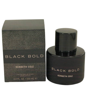 Kenneth Cole Black Bold by Kenneth Cole Eau De Parfum Spray 3.4 oz for Men - rangoutlet.com