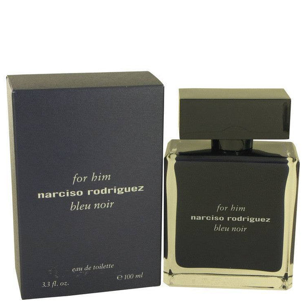 Narciso Rodriguez Bleu Noir by Narciso Rodriguez Eau De Toilette Spray 3.4 oz for Men - rangoutlet.com