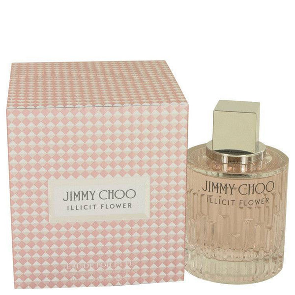 Jimmy Choo Illicit Flower by Jimmy Choo Eau De Toilette Spray 3.3 oz for Women
