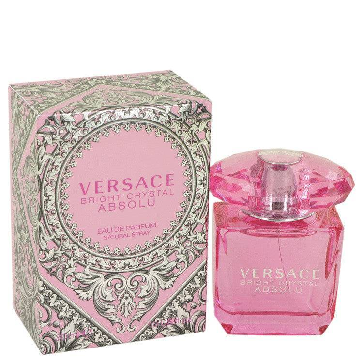Bright Crystal Absolu by Versace Eau De Parfum Spray 1 oz for Women - rangoutlet.com