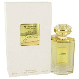 Al Haramain Junoon by Al Haramain Eau De Parfum Spray 2.5 oz for Women - rangoutlet.com