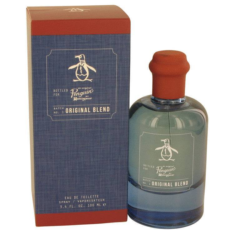 Original Penguin Original Blend by Original Penguin Eau De Toilette Spray 3.4 oz for Men