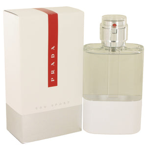 Prada Luna Rossa Eau Sport by Prada Eau De Toilette Spray 4.2 oz for Men
