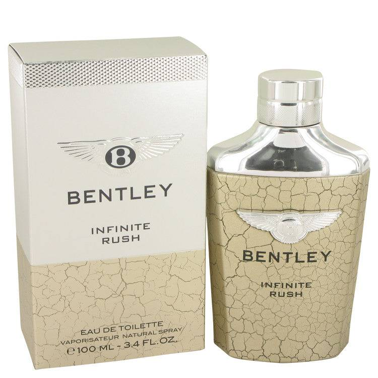 Bentley Infinite Rush by Bentley Eau De Toilette Spray 3.4 oz for Men