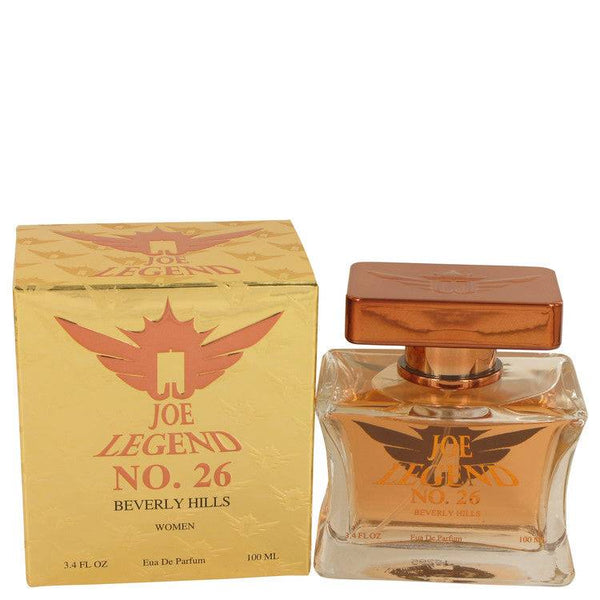 Joe Legend No. 26 by Joseph Jivago Eau De Parfum Spray 3.4 oz for Women - rangoutlet.com