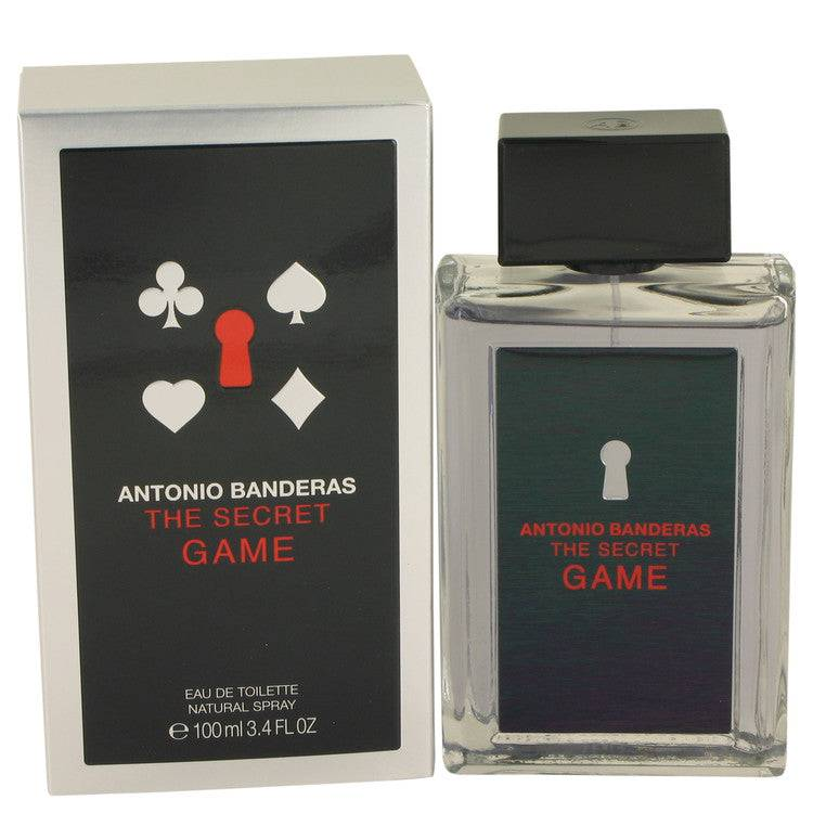 The Secret Game by Antonio Banderas Eau De Toilette Spray 3.4 oz for Men