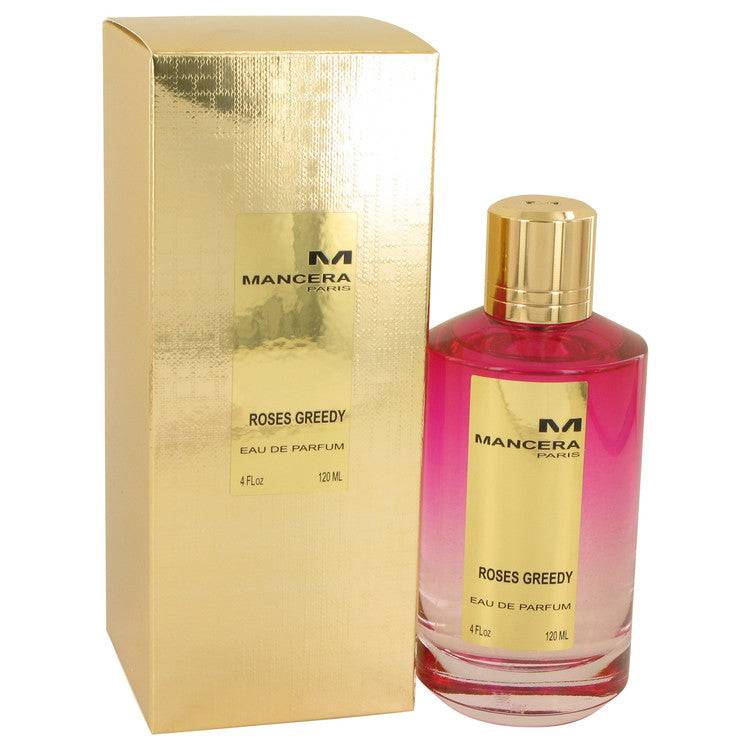 Mancera Roses Greedy by Mancera Eau De Parfum Spray 4 oz for Women - rangoutlet.com